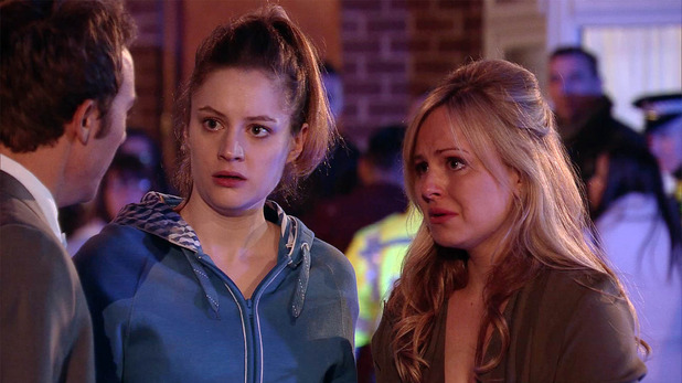 Corrie, David and Kylie and Sarah, Wed 25 May