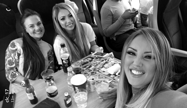Charlotte Crosby, Chantelle Connelly, Holly Hagan 24 May