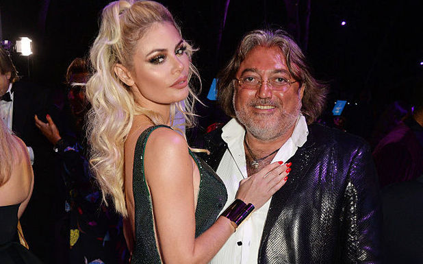 Chloe Sims and Robert Tchenguiz in Cannes 17 May