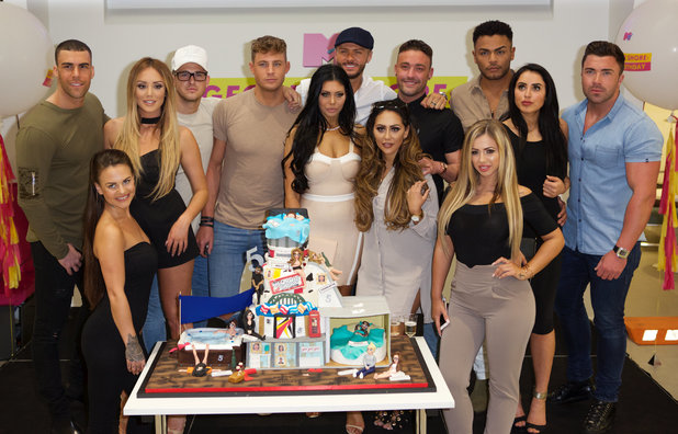 Geordie Shore' 5th Birthday celebration at MTV - 24 May 2016