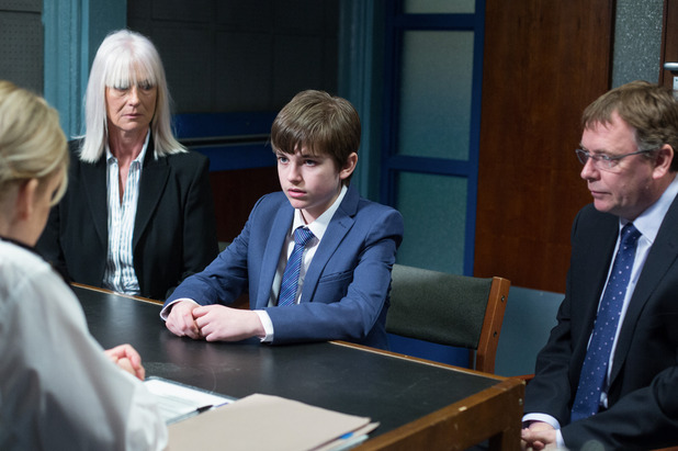 EastEnders, Bobby at the police station, Tue 31 May