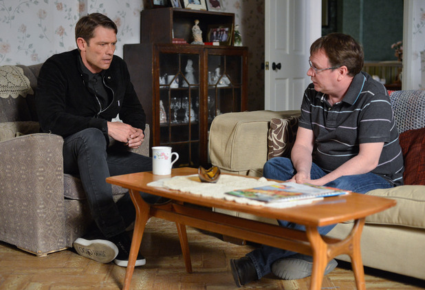 EastEnders, Christian wants answers from Ian, Fri 27 May