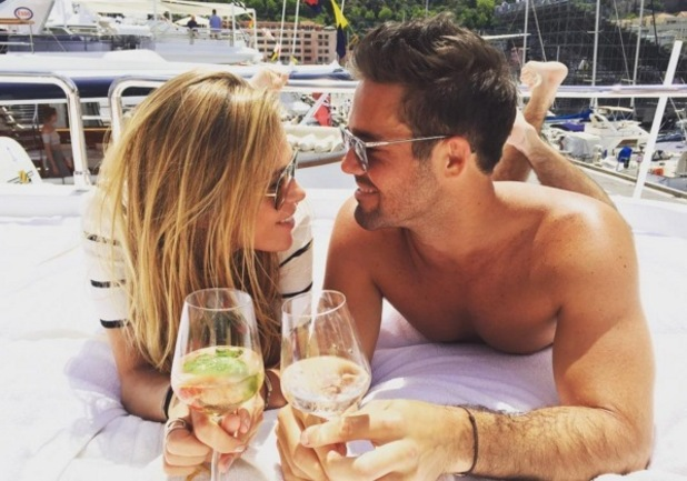 Spencer Matthews and Morgane Robart in Monaco 27 May