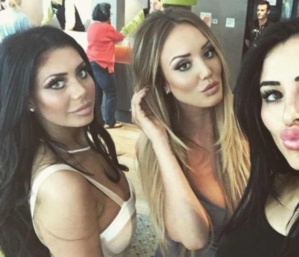 Chloe Ferry shares new picture of Charlotte Crosby and Marnie Simpson at Geordie Shore party - 24 May 2016