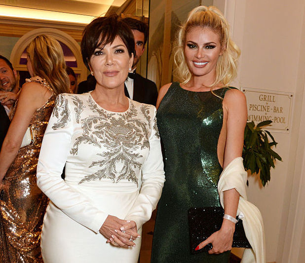 Kris Jenner and Chloe Sims attend the de Grisogono party during the 69th Cannes Film Festival at Hotel du Cap-Eden-Roc in Cap d'Antibes, France 17 May