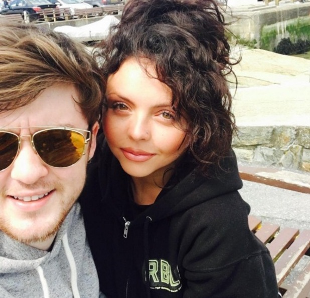 Jesy Nelson and Jake Roche selfie, Instagram 22 May