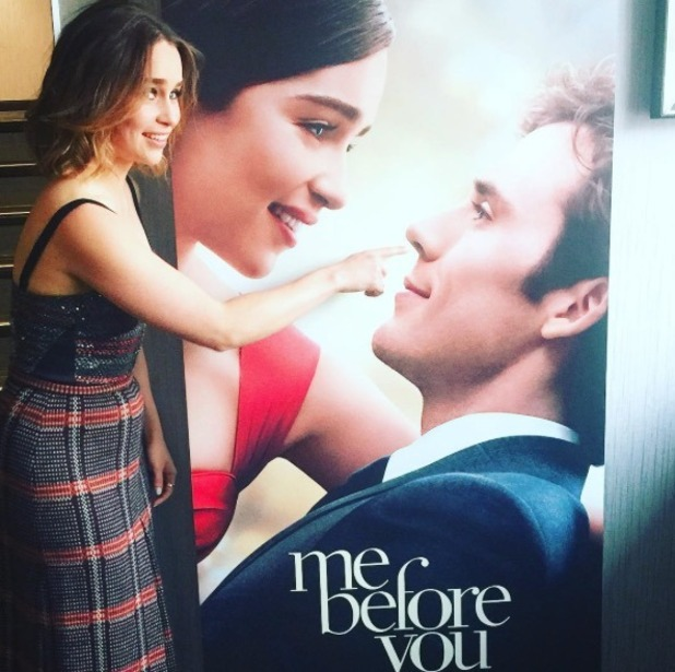 Emilia Clarke during promotional tour of Me Before You - 25 May 2016