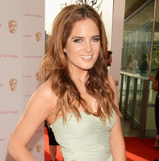 Binky Felstead attends the House Of Fraser British Academy Television Awards 2016 at the Royal Festival Hall on May 8, 2016 in London, England.