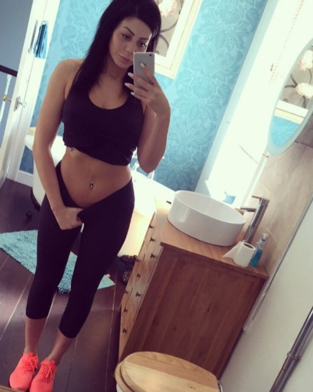 Chloe Ferry posts a mirror selfie, 22 May 2016