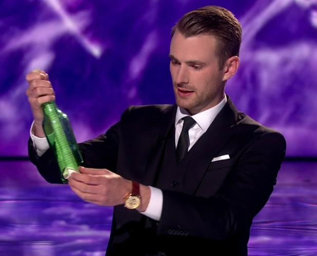 Richard Jones performs for the judges in the third of the semi finals of 'Britain's Got Talent'. Broadcast on ITV1 HD.D 2016