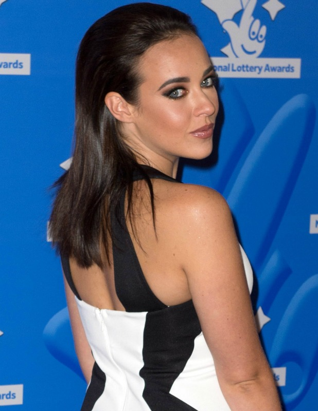 National Lottery Stars 2015 held at The London Studios Stephanie Davis 2016