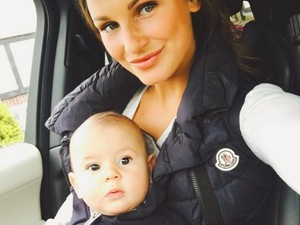 Sam Faiers and baby Paul 3 June