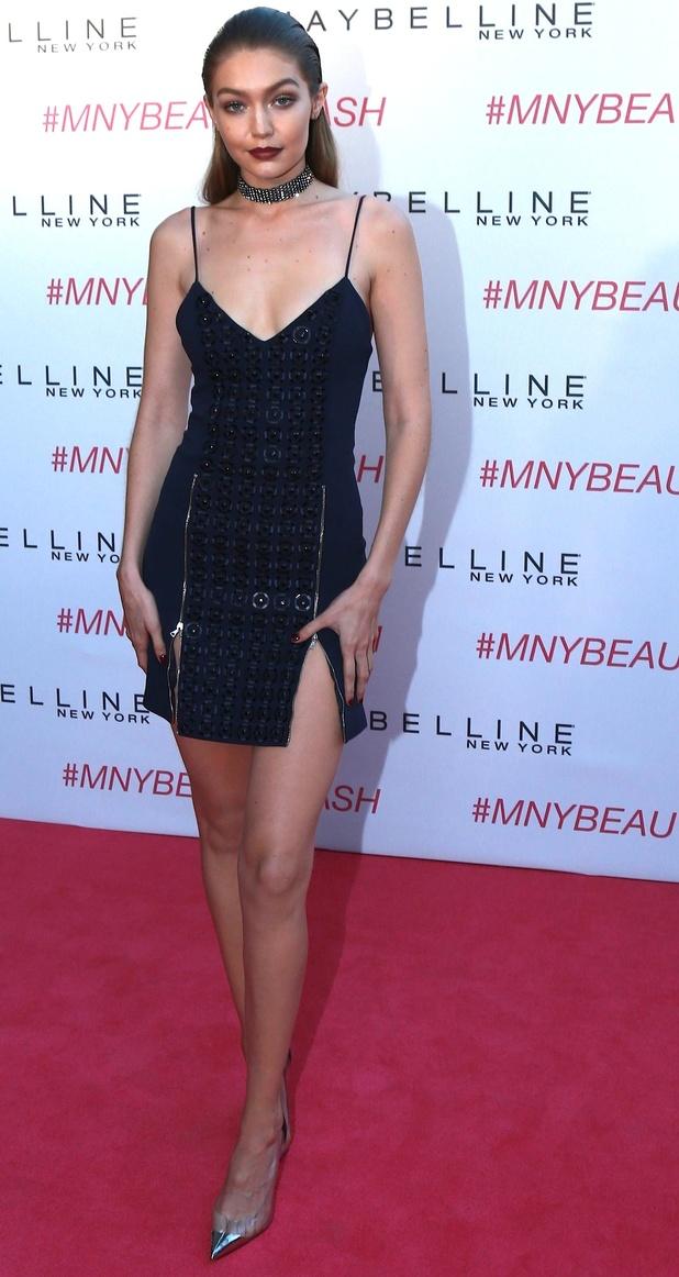 Gigi Hadid at Maybelline New York Beauty Bash, 5/6/16