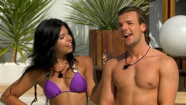 Nathan Massey and Cara De La Hoyde, Love Island 30 May