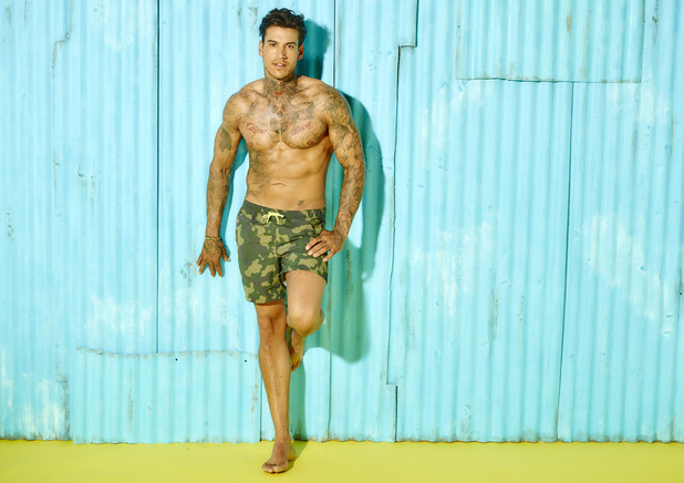 Terry Walsh, Love Island newcomer 31 May