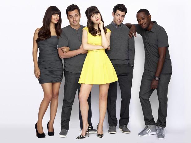 New Girl, CeeCee, Nick, Jess, Schmidt, Winston, Thu 2 Jun