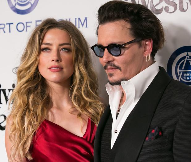 Johnny Depp and Amber Heard at The Art of Elysium 2016 HEAVEN Gala, 9/1/16