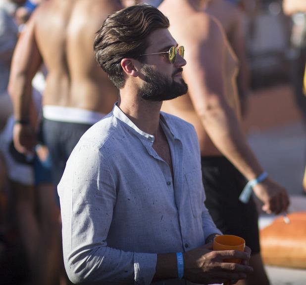 Jasmin Walia at Ocean Beach Ibiza Spray Partywith Dan Edgar and Ross Worswick Bank Holiday, May 2016