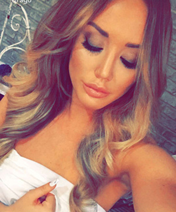 Charlotte Crosby shares photo from mystery photoshoot 2 June 2016