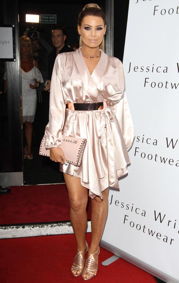 'Jessica Wright Footwear' launch at Vanilla, London, Britain - 01 Jun 2016