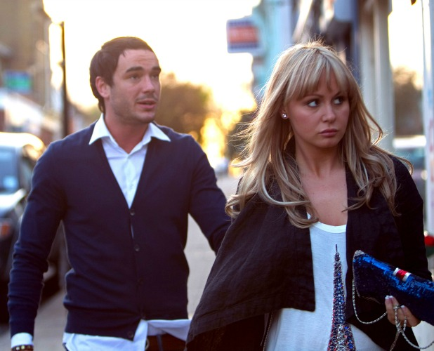 Chanelle Hayes and Jack Tweed in London, 2010