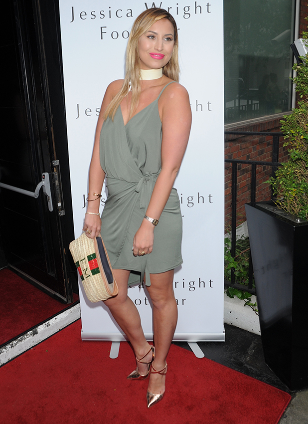 Jessica Wright Footwear' launch at Vanilla, London, Britain - 01 Jun 2016 Ferne McCann