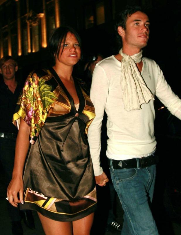 Jade Goody and Jack Tweedy arriving at Embassy nightclub London, England - 28.04.07