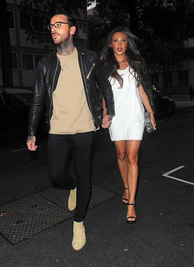 Megan McKenna and Pete Wicks attend Jessica Wright Footwear SS16 - press party at Vanilla. London. UK