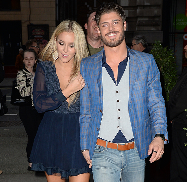 Sam Reece spotted out for the first time with his new girlfriend Taylor Ward