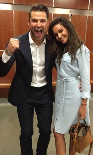 Mark Wright and Michelle Keegan, Soccer Aid 2016 5 June