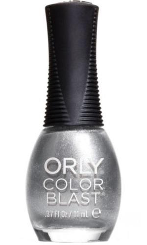 Orly Colour Blast Nail Polish in Silver Chrome Foil