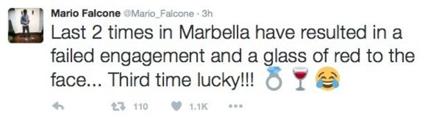 Mario Falcone joke about Marbella - 10 June 2016