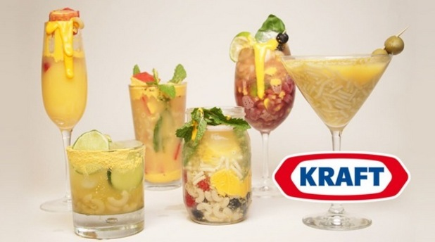 Kraft have created cheese-inspired cocktails