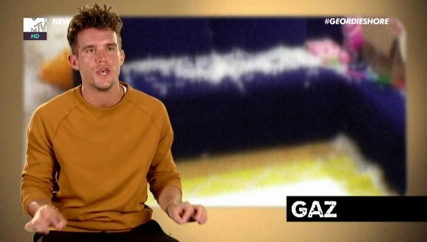 Gaz Beadle on Geordie Shore, April 2016