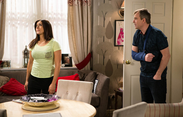 Corrie, Steve still angry at Michelle, Wed 8 Jun