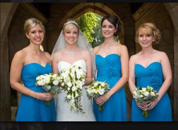 Anne and her bridesmaids