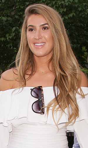 Lillie Lexie Gregg attending the Amy Childs Spring Summer 2016 Fashion Showcase on June 6, 2016 in London, England. (Photo by Mark Robert Milan/GC Images)
