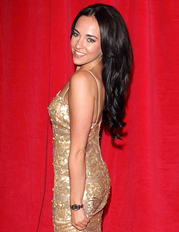 British Soap Awards 2014 - Red Carpet arrivals - at the Hackney Empire, London Stephanie Davis