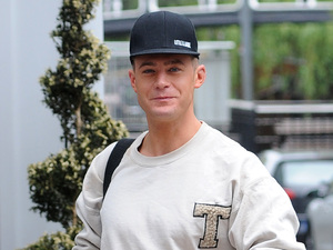 Scotty T, The cast of Geordie Shore leave their hotel the morning after their 5th anniversary party 25 May