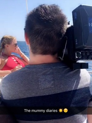 Sam and Billie Faiers film The Mummy Diaries in Spain - 14 June 2016