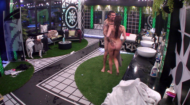 Big Brother: Marco and Laura get steamy in the pool before showering naked 16 June 2016