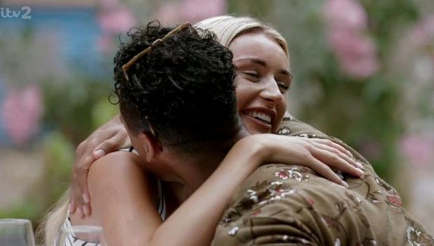 Rachel Fenton confronts Rykard Jenkins, Love Island 13 June