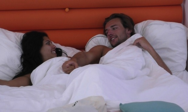 Nathan Massey and Cara De La Hoyde, Love Island 15 June