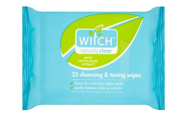 Witch Cleansing and Toning Wipes £2.99, 16th June 2016