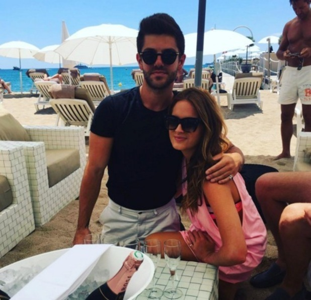 Binky Felstead and Alex Mytton celebrate their birthday together 14 June