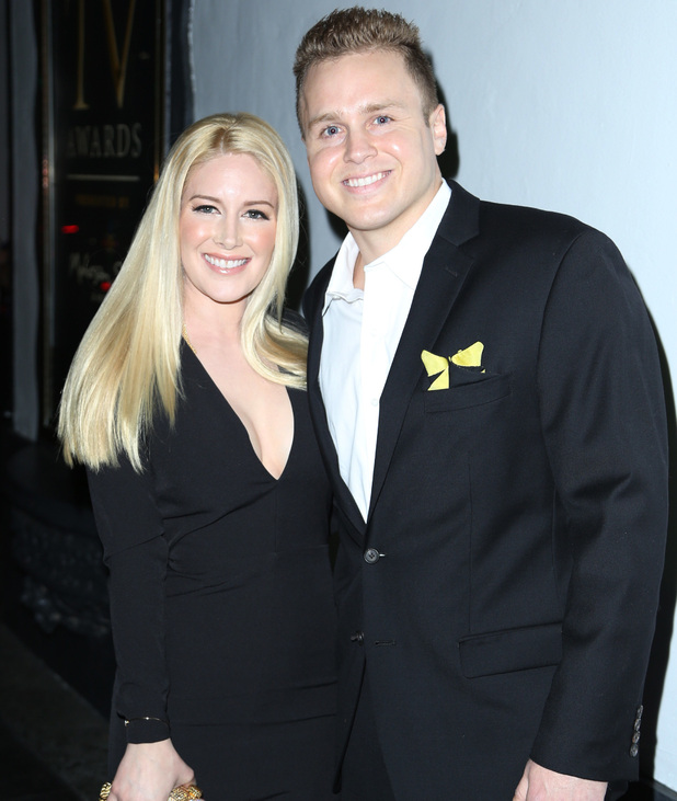 Heidi Montag and Spencer Pratt - 3rd Annual Reality TV Awards held at The Avalon Hollywood - 14 May 2015