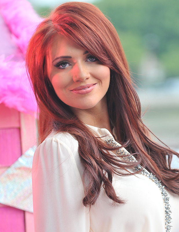 Amy Childs presenting a segment on 'This Morning' London, England - 19.07.11