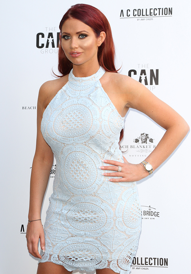 Amy Childs Summer collection showcase at Beach Blanket Babylon, Notting Hill, London 2016