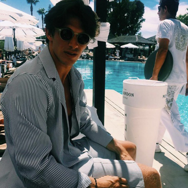 Jake Hall recovers in Spain after alleged stabbing 13 June 2016