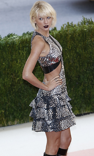 Manus x Machina: Fashion In An Age Of Technology' Costume Institute Gala held at the Metropolitan Museum of Art Taylor Swift